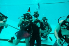 Новый год в бассейне дайвинг клуб 2b3