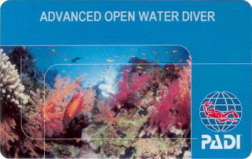 advance open water diver